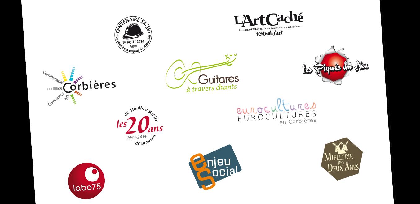 Identité visuelle logo et charte graphique