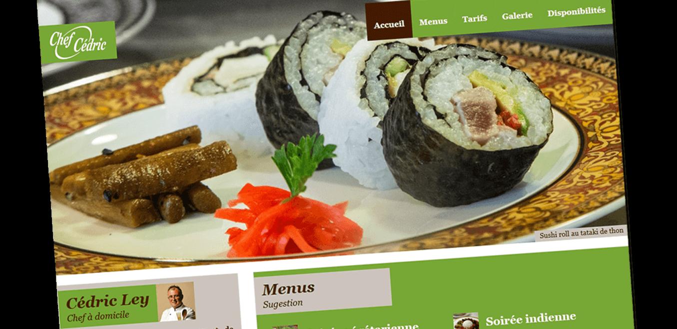 Site internet vitrine et de vente en ligne